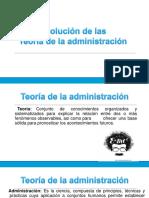 1.2.2 Enfoques de Las Teorias de La Administracion
