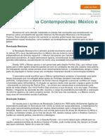 América Latina Contemporânea - México e Cuba