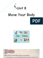 Unit 8 move your body
