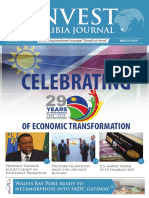 Invest Namibia Journal, March Issue 2019 (the independence issue)