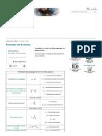 Fórmulas de Acústica - Só Física