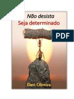 NÃO DESISTA, SEJA DETERMINADO....pdf