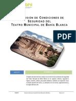 Revisión de Condiciones de Seguridad Del Teatro Municipal Bahía Blanca