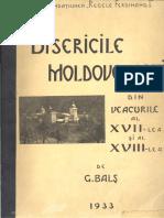 G. Bals - Bisericile Moldovenesti 1933_ partea I.pdf