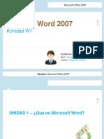 Introducción a Word 2007 - guillermo-diaz.ppt