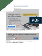 Proceso Wordpress