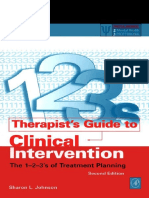 (Practical Resources for the Mental Health Professional) Sharon L. Johnson-Therapist's Guide to Clinical Intervention, Second Edition_ The 1-2-3's of Treatment Planning (Practical Resources for the Me(1).pdf