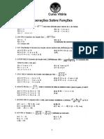 Operações Sobre Funções AFA_Espcex
