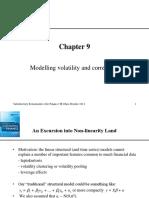 Modelling Volatility and Correlation