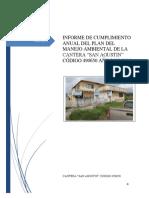 INFORME ANUAL DE CUMPLIMIENTO DEL  PLAN DE MANEJO AMBIENTAL MINA 2015.pdf