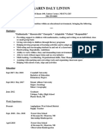 teaching resume 2018  copy