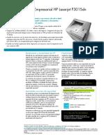Impresora Laser P3015DN