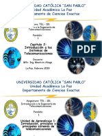 Cap 2 Introduccion a Los Sistemas de Telecomunicaciones Tel 101 1 2019