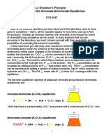 Le Chatelier's Principle - Chromate Dichromate C12!4!07