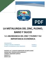 Abundancia Del Zinc y Plomo y Su Importancia Economica