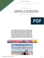 Contra la astrología