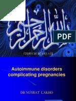 Autoimune Disorders in Pregnancy