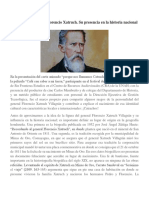 La Figura Del General Florencio Xatruch
