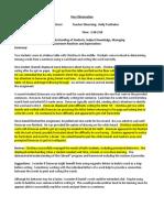 peer observation 4 4 portfolio