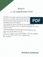 Comprehension Ecrite, Comprehension Orale, Vocabulary and Grammar Pg 2