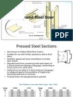 7- Pressed Steel Door