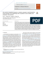 Can Scarcity of Products Promote or Restrain Consumers' Word-Of-mouth in Social Networks_ the Moderating Roles of Products' Social Visibility and Consumers' Self-construal