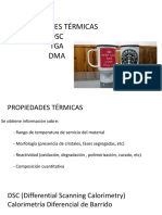 DSC TGA DMA
