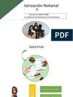 Derecho Notarial - Diapositivas