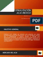 Internacionalización Acai Mexico
