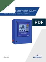 Microcontrolador Vission 2020 Manual de operación y servicio versión 2.7.pdf