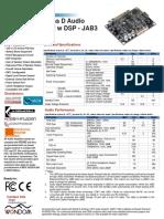 2 x 30 Watt AA-JA32473 Class D Audio Amplifier Board - JAB3