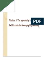Ellis (2008). Principles of Instructed SLA