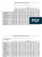 Calendario Valorizado y Calendario de Materiales 2º Etapa