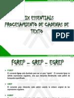 PRESENTACIÓN_UNIX ESSENTIALS_PROCEDIMIENTO DE CADENAS_LARED38110