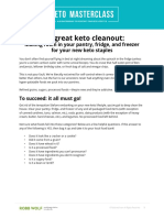 the Great Keto Cleanout