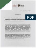 AMLO Memorándum-16-abril-2019-Segob-SEP-SHCP-EDUCATIVO