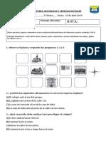 EVALUACIÓN de HISTORIA Coordenadas Cuadrícula