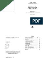 Mario Bunge - Economia y Filosofia.pdf