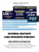 MATERIAL GRATUITO PARA CONCURSOS (668 APOSTILAS ).pdf