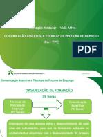 Comunicação Assertiva e Técnicas de Procura de Emprego
