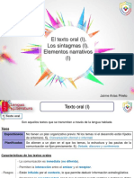 Ud 04 El Texto Oral i Los Sintagmas i Elementos Narrativos i Alumno