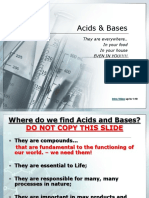 Acid and Base PPT