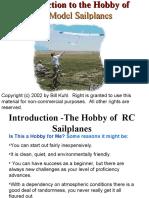 An Introduction to Radio Control Sailplanes