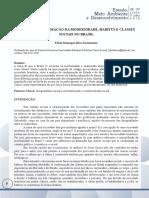 Jesse Souza Formacao Da Modernidade, Habitus e Classes