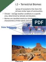 extra - terrestrial biomes