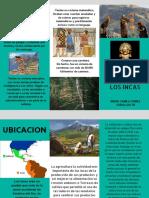 Folleto Inca