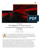 The Mystery of Time's Arrow - Issue 71_ Flow - Nautilus