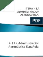 administracion aeronautica española