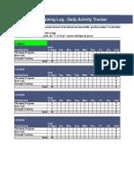 BP Activity Tracker