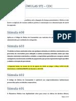 SÚMULAS STJ - CDC.docx